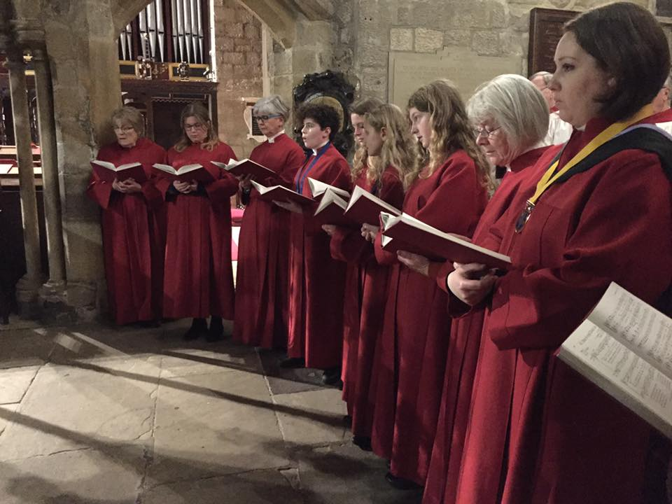 Chorister starts Once in Royal David's City
