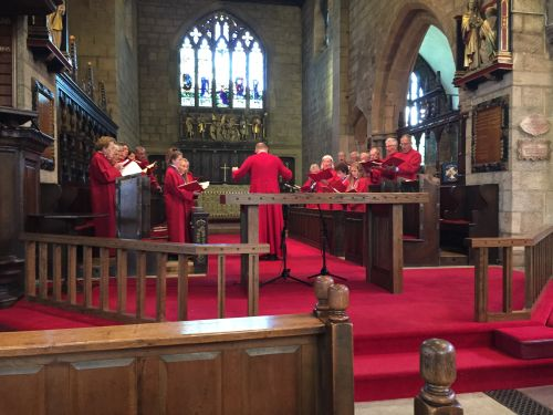 St Oswald's Choir Concert July 2016