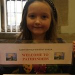 St Oswald's Pathfinders was set up for the older children in the Sunday School. They meet in the Carlton Room after the first hymn each Sunday