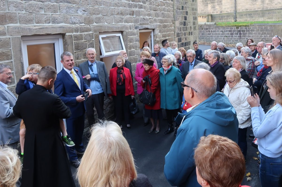 Opening of St Oswald's Parish Centre