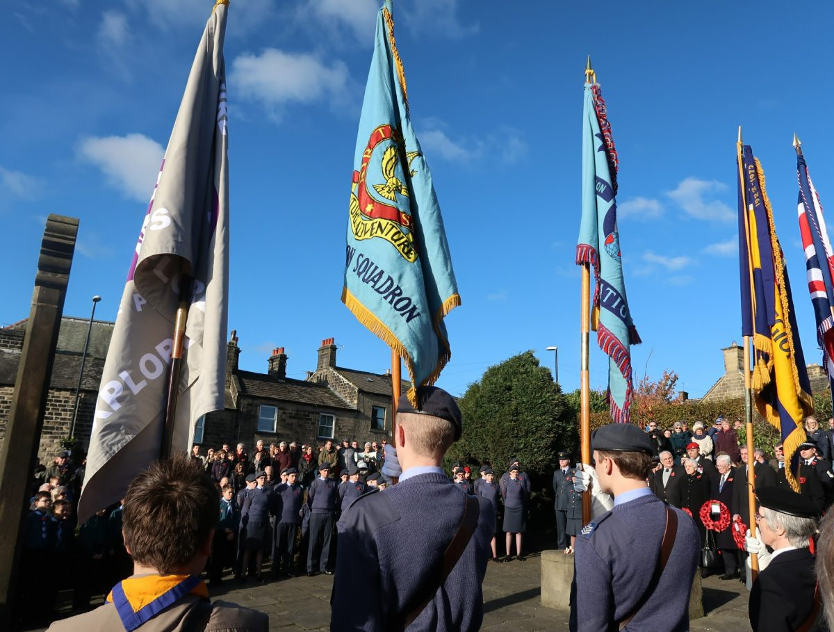 Remembrance Service, November 2017