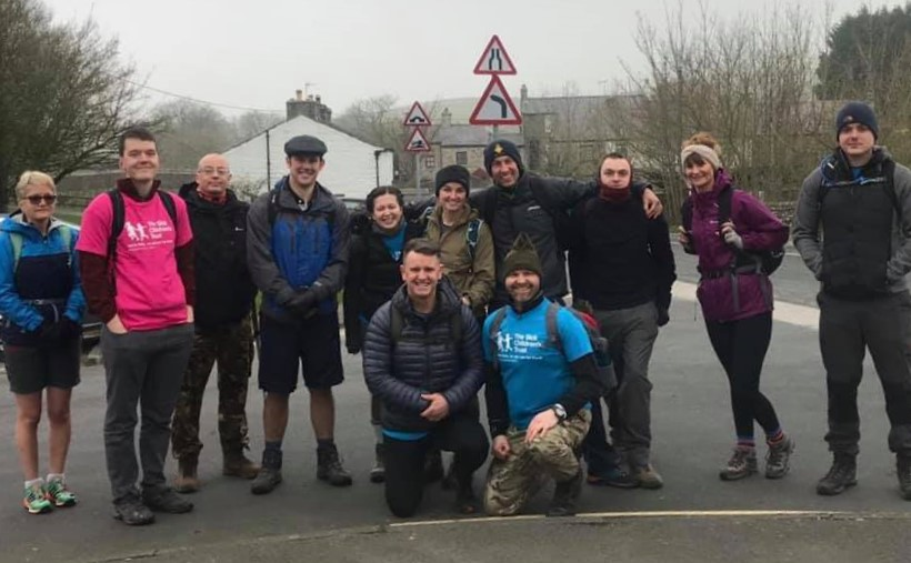 Rector takes on Three Peaks Challenge