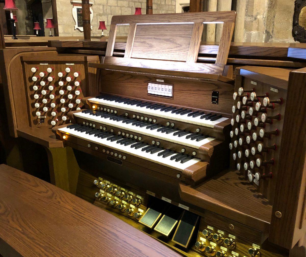 New Junior Organ Scholar